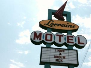 Lorraine Motel in Memphis, where Martin Luther King, Jr. was assassinated in 1968.