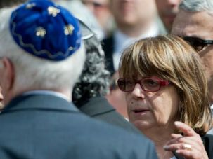 ?Real Egyptian?: Magda Haroun, the head of Egypt?s tiny Jewish community, admits hearing anti-Semitic comments on the streets of Cairo during the recent military crackdown. But she supports the push against the Islamist Muslim Brotherhood.