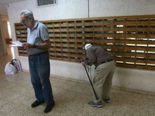 They Got Mail: Kibbutz members are getting mail from the U.S. as usual. One Detroit-area post office branch mistakenly told customers it was not delivering to Israel because of the war.