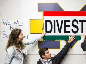A Campus Divided: Students at the University of Michigan called on their school to divest from companies that they say contribute to human rights violations against the Palestinians. As the campus debate around Israel heats up, professors are getting caught in the crossfire.