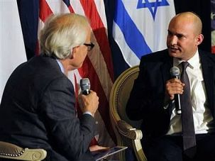 Face to Face: Naftali Bennett bluntly tells American peace mediator Martin Indyk that he should stop pushing Israel to accept a two-state solution