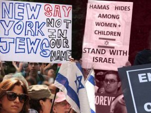 Conflict: Division over the war ripped American Jews apart.