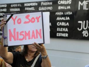 Argentine protesters demonstrate against the government of President Cristina Fernandez.