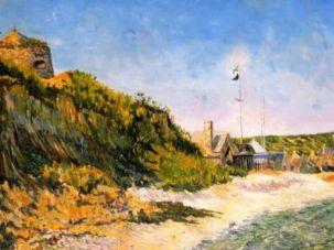?Port-en-Bessin? by neo-Impressionist Paul Signac