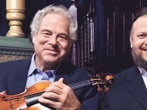 More Nigunim, Maestros: Perlman and Helfgot?s new CD honors the music Perlman loved