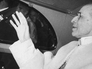 Controversial: Pope Pius XII is on a path to sainthood despite lingering concerns about his role during the Holocaust.