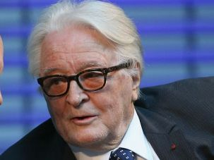 Roland Dumas, 92, once served as French foreign minister.