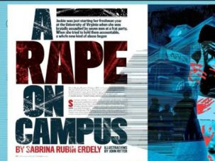 A Rolling Stone story about rape on college campuses has roiled the media world. Jewish college groups say they had already taken initiatives to combat sexual violence on campus.