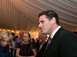 Ron Dermer, Israel's ambassador to the U.S., speaks at Rosh Hashanah event in Washington.