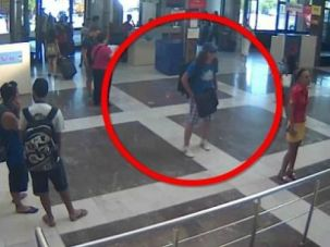 ?Normal? Killer: The suspect in the Bulgaria bus bombing, shown here in security footage, looked like a normal traveller.