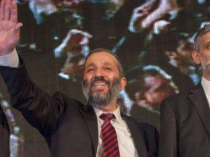 What Next?: Shas co-leaders Aryeh Deri (left) with Eli Yishai
