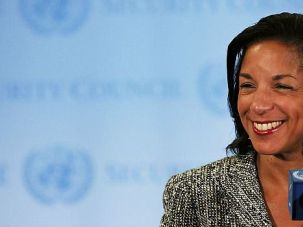Standing Up: U.N. Ambassador Susan Rice has won over supporters of Israel with her firm support at the world body.