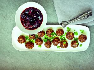 Syrian Meatballs from 'King Solomon's Table' by Joan Nathan.