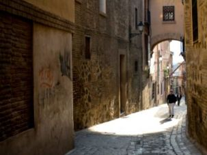 The Jewish Quarter of Toledo, Spain.