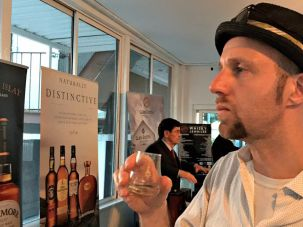 Tough Job: Forward Managing Editor and Whisky Correspondent Dan Friedman puts his palate on the line at Whisky Jewbilee 2016.