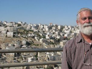 Agitator: David Wilder, spokesman for the Committee of the Jewish Community in Hebron, represents embattled Israeli settlers.