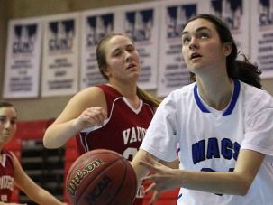 Head of the Glass: Rebecca Yoshor honed her hoops skills facing off with her brothers in their Houston driveway. Now she?s a star at Yeshiva.