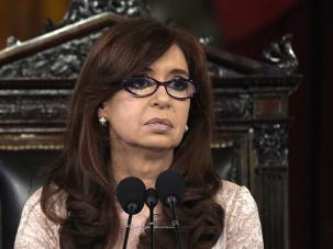 Argentina's President Cristina Kirchner