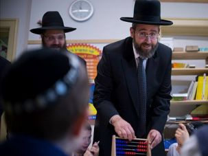 Israel?s chief Ashkenazi rabbi David Lau marks the 75th anniversary of Kristallnacht with a visit to a Jewish kindergarten in Berlin.