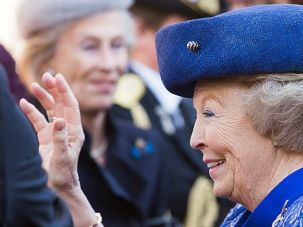 Fete Delayed: The Dutch royal family has postponed a party for former Queen Beatrix.