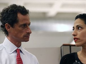 Drama Galore: There was an Anthony Weiner/Huma Abedin sighting yesterday. Last weekend, Eliot Spitzer was in church pleading forgiveness, and some love child drama, too. Why all the Jewish sex scandals?