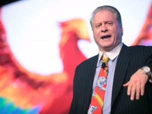 Wayne Allyn Root is a columnist for the Sheldon Adelson-owned Las Vegas Review-Journal.