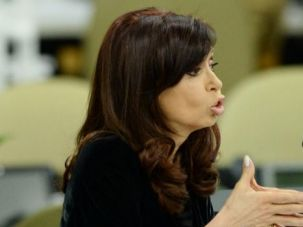 Under Her Skin? Argentina President Cristina Fernandez racked up 31 Tweets about American Jews and their focus on Iran?s role in the 1994 Buenos Aires terror bombing.
