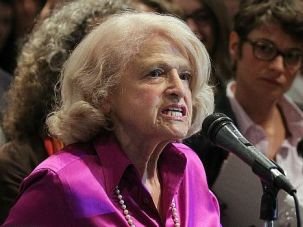 Gone But Not Forgotten: Edith Windsor dedicated her win in the Supreme Court?s decision overturning the Defense of Marriage Act ot her late partner. ?What a way to celebrate the life of my beloved Thea,? she said.