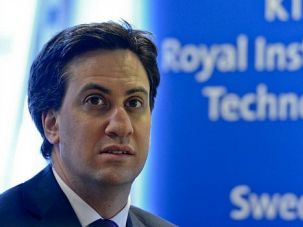 Support: Ed Miliband delivered a message of support for Israel and Jewish ritual to a gathering of British Jews.