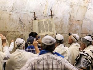 Holocaust survivors celebrated their Bar Mitzvah at the Western Wall.