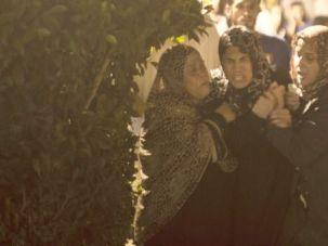 More Bloodshed: Anguished relatives mourn deaths of Hamas militants killed in Israeli air strike on Gaza.