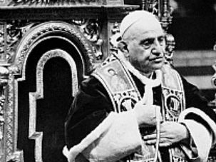 Saintly: Pope John XXIII convened the Second Vatican Council, a watershed moment for the Catholic Church?s relations with Jews.