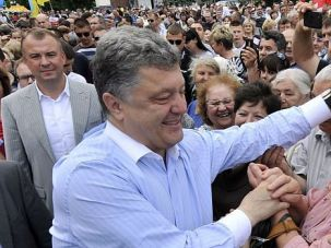 Mezuzah in the Closet? Confectionary mogul Petro Poroshenko is leading the polls in Ukraine's presidential race. Does he have a secret Jewish family history?