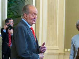 Manna in Madrid: Spain rolled out the red carpet for leaders of the Council of Presidents of Major Jewish Organizations during a recent fly-in stop, including a meet and greet with King Juan Carlos.