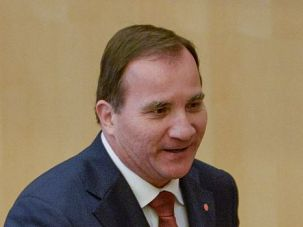 Swedish Prime Minister Stefan Lofven says he plans to recognize Palestine as a state.
