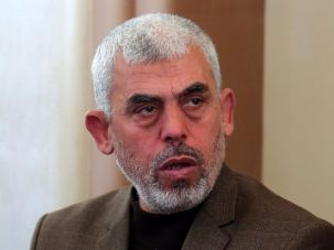 Yahya Sinwar, the leader of Hamas in the Gaza Strip.