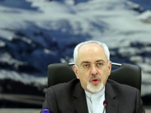 Negotiating: Iranian Foreign Minister Mohammad Javad Zarif was the lead Iranian negotiator in the deal struck in Geneva.