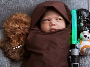 Mark Zuckerberg's daughter Max gets the full Jedi treatment.
