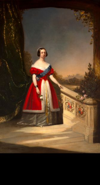 Ermine Realism: Solomon Hart's 'Young Queen Victoria,' on display at Ben Uri Gallery.