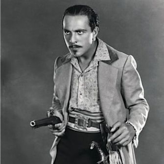 Cortez the Killer: The actor in a promotional shot for the 1926 silent film 'Eagle of the Sea.'