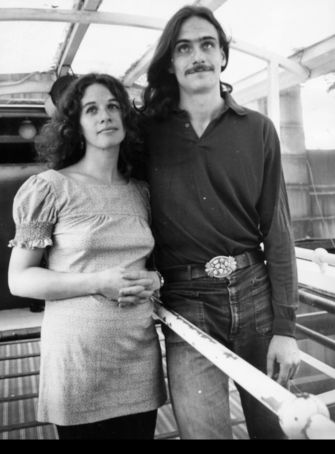 Soft Rock Royalty: James Taylor with Carole King in 1972.