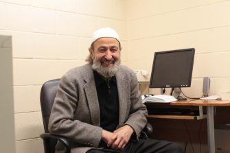 Muslim Student Association advisor Ali Mermer counsels Jews and Christians, too.
