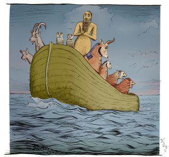 An Akkadian deluge.