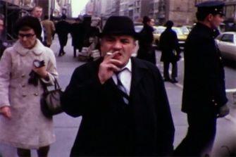 8mm film still, New York, 1968