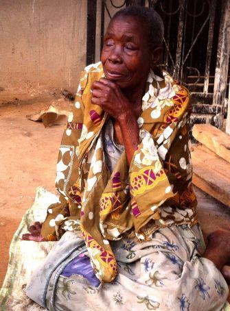 Rabbi Mugoya's aunt is 95 years old