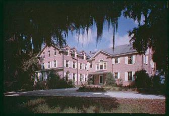 Hobcaw House, Bernard Baruch's winter retreat near Georgetown, S.C.