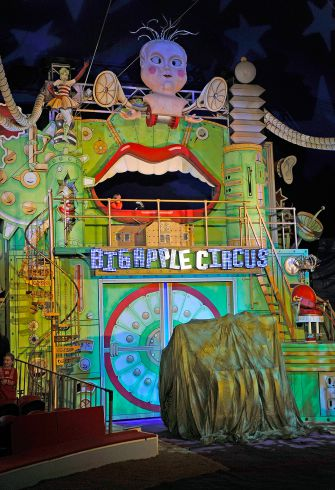 The Big Apple Circus at Damrosch Park, Lincoln Center on December 17, 2011 in New York City.