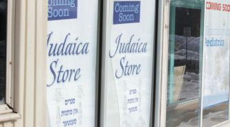 Change Comin?:New stores, including a Judaica shop are planned to cater to an expected influx of ultra-Orthodox Jews.