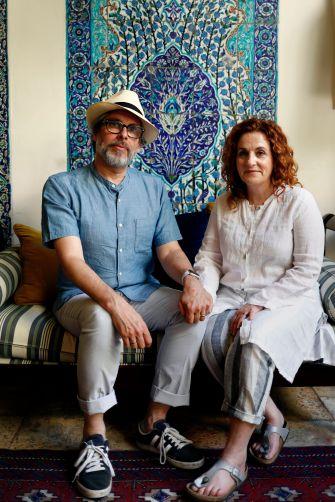 Michael Chabon and Ayelet Waldman.
