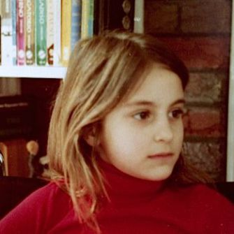 Wearing Something Red: The author, circa 1978.